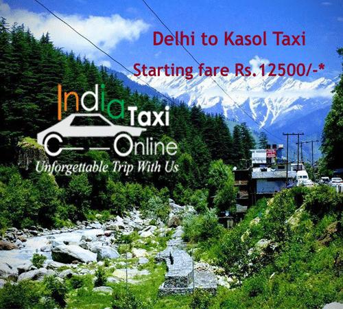 Delhi to Kasol Taxi