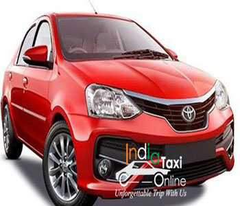 Etios taxi on rent in Delhi