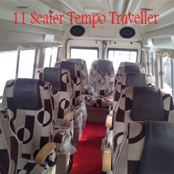 Hire 11 Seater Tempo Traveller delhi
